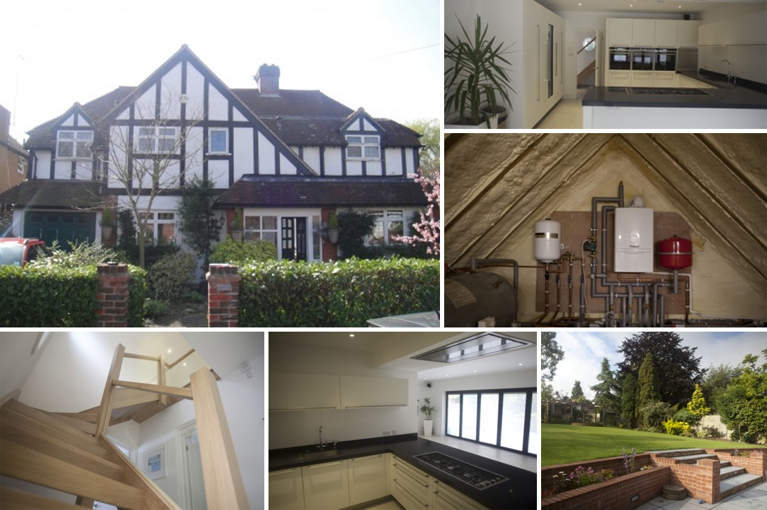 Complete Renovation & Double Storey Extension